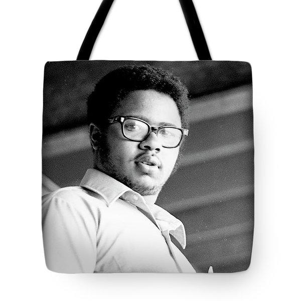 Perturbed High School Student, With Substantial Eyeglasses, 1972 Tote Bag