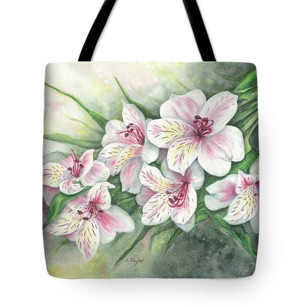 Peruvian Lilies Tote Bag