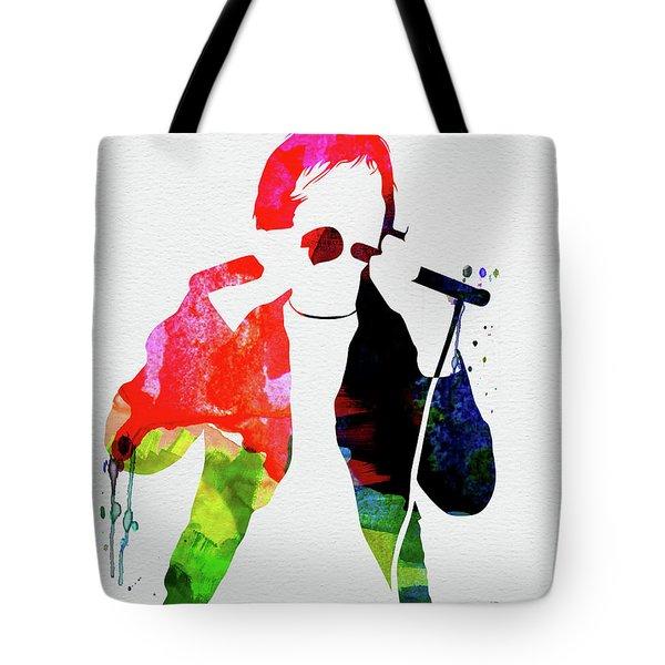 Peter Watercolor Tote Bag