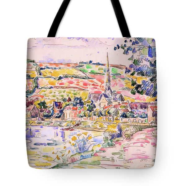 Petit Andely-the River Bank - Digital Remastered Edition Tote Bag