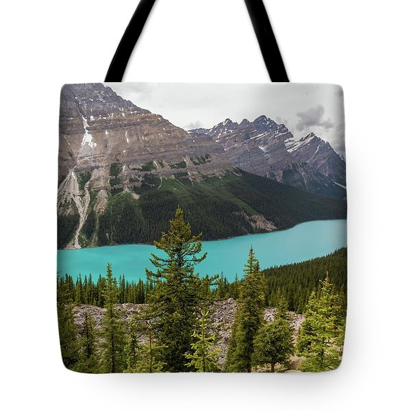 Tote Bag featuring the photograph Peyto Lake by Paul Schultz
