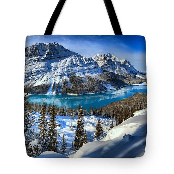 Peyto Lake T-shirt Tote Bag