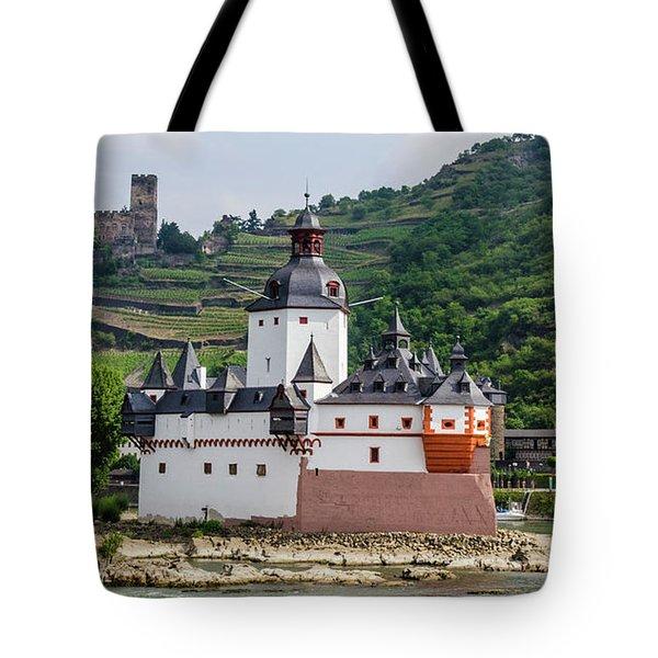 Pfalzgrafenstein Castle Tote Bag