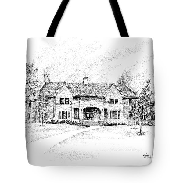Phi Kappa Psi Fraternity House, Indiana University, Bloomington Tote Bag