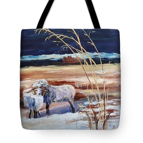Phil And Alice Navajo Sheep    38 Tote Bag