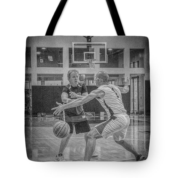 Tote Bag featuring the photograph Phil Parsons by Ronald Santini