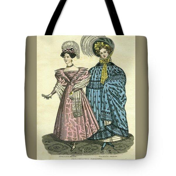 Philadelphia Fashions Tote Bag