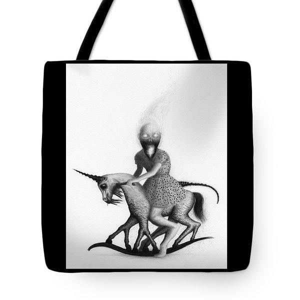 Philippa The Crackling Rider - Artwork  Tote Bag