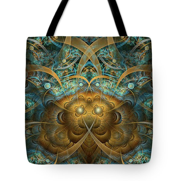 Tote Bag featuring the digital art Philippians by Missy Gainer