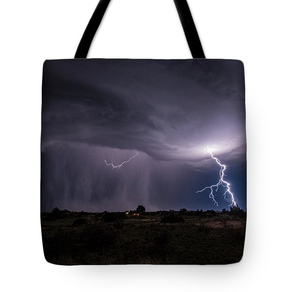 Thunderstorm #3 Tote Bag