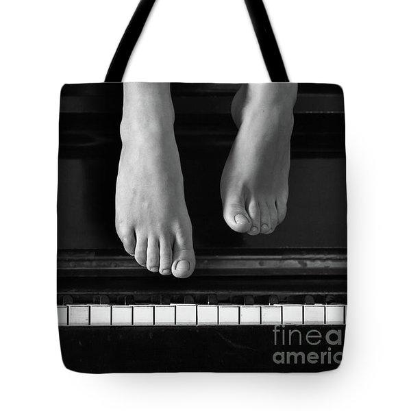 Piano #0215az Tote Bag