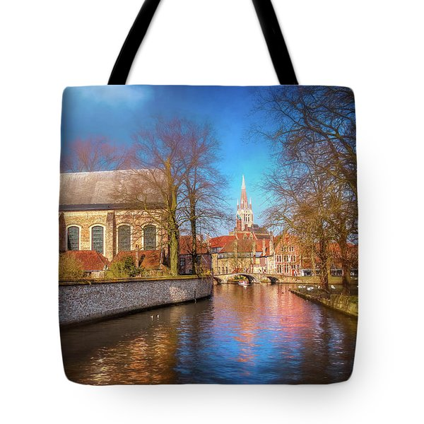 Picturesque Bruges Belgium  Tote Bag