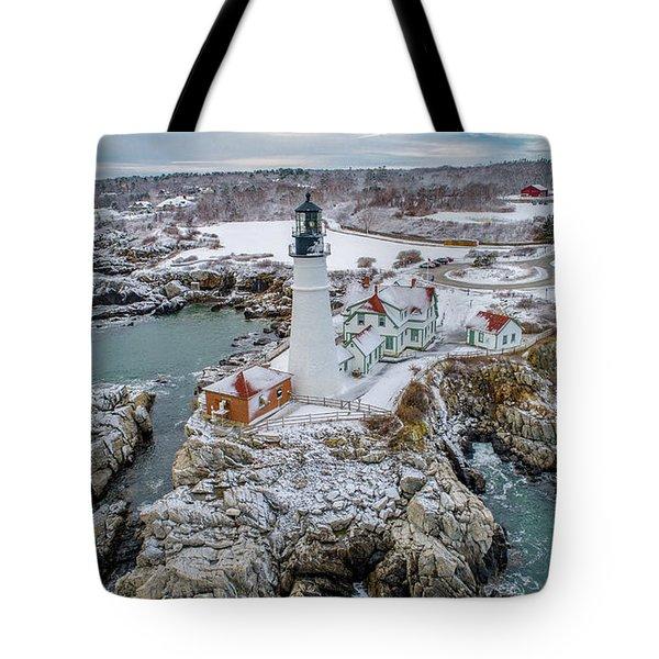 Picturesque Maine  Tote Bag