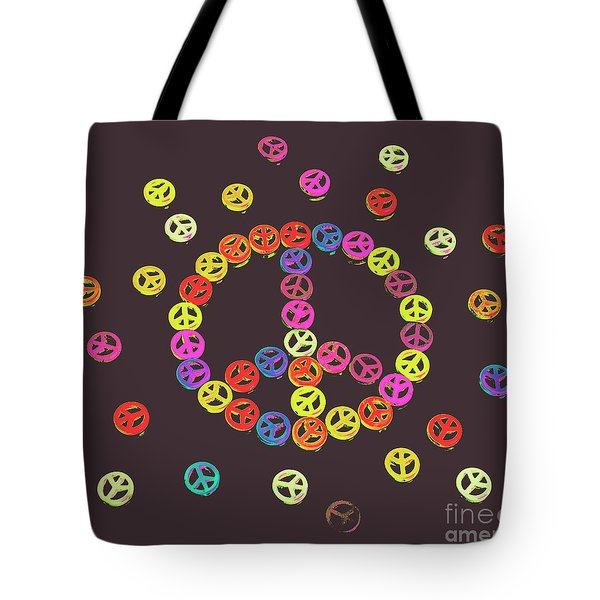 Pieces Of Peace Tote Bag