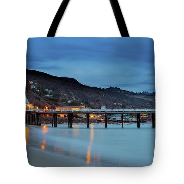 Pier House Malibu Tote Bag