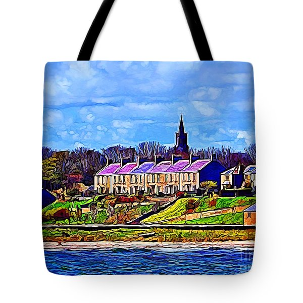 Pier Road, Berwick, Northumberland Coast - Photo Art Tote Bag