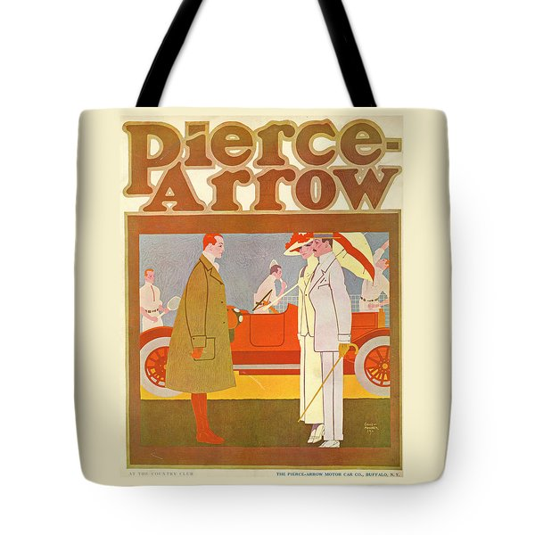 Pierce-arrow Advertisement Tote Bag