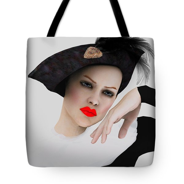 Pierrette De Vogue Tote Bag
