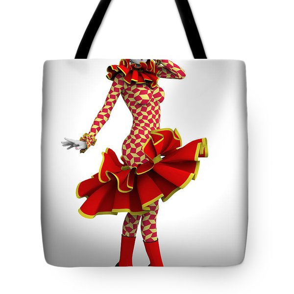 Pierrette Of Madrid Tote Bag