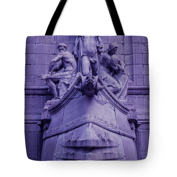 Pigeon Placement Tote Bag