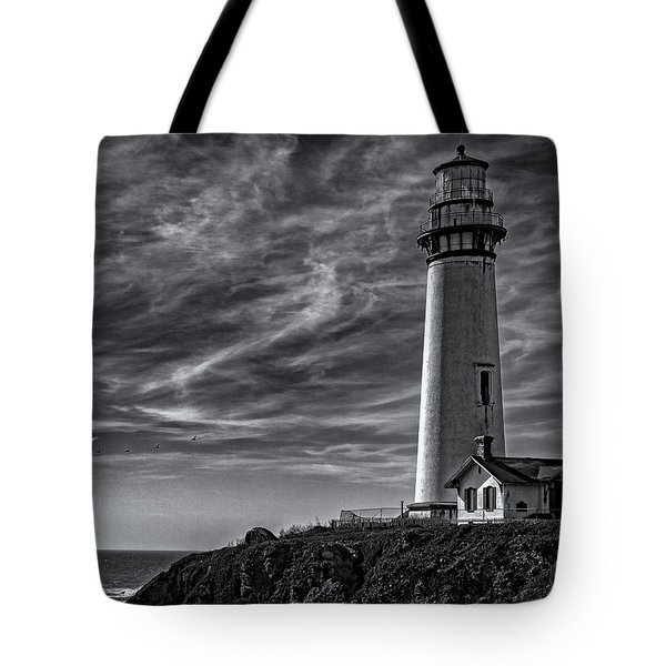 Pigeon Point Light Station Tote Bag