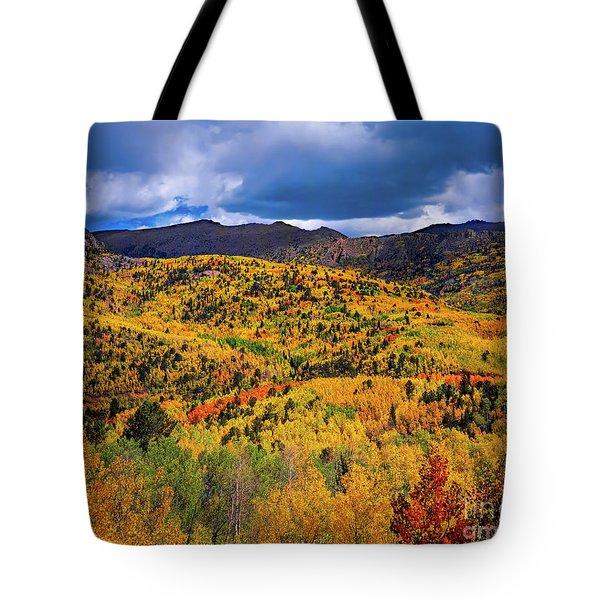 Pikes Peak Autumn Tote Bag