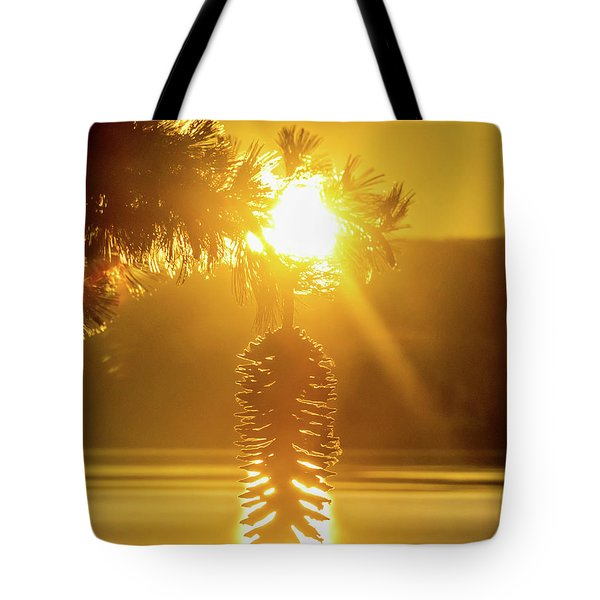 Pine Cone Fire Tote Bag