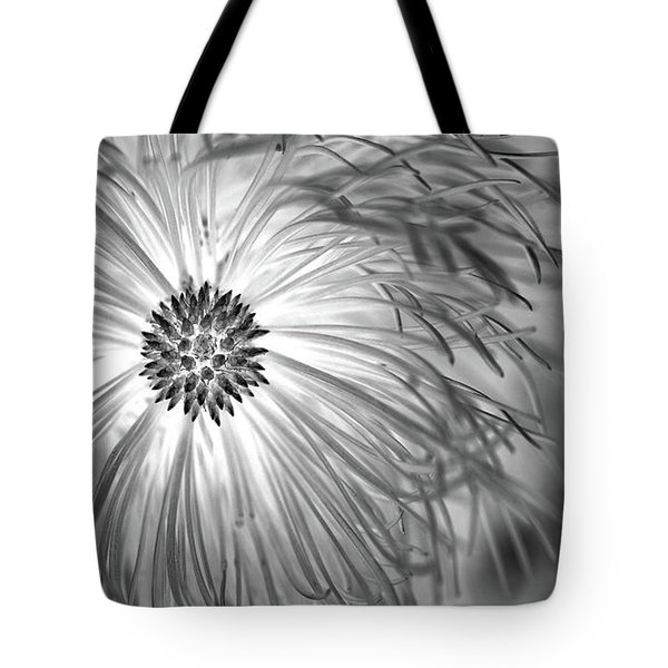 Pine Cone With Needle Halo Tote Bag