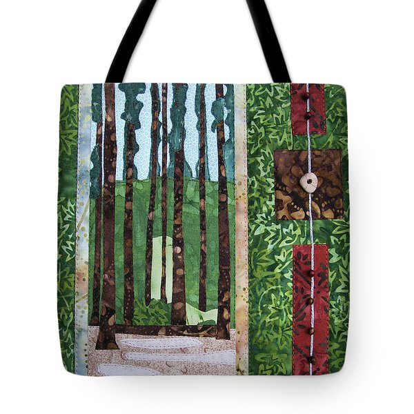 Pine Forest Tall Tote Bag