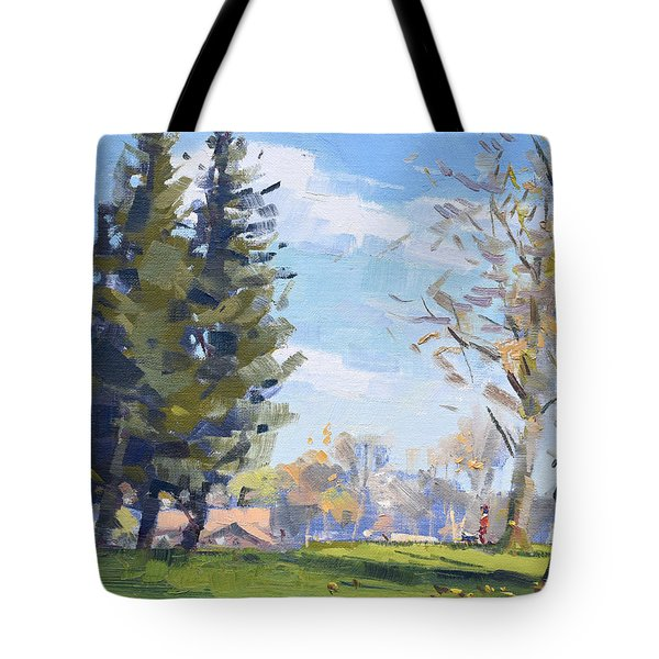 Pine Trees Tote Bag