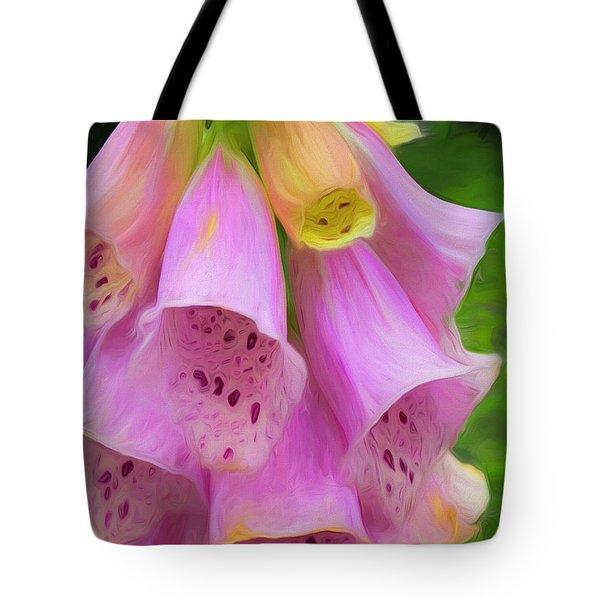 Pink Bells Tote Bag