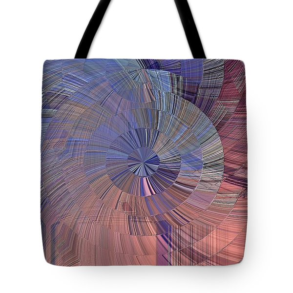 Pink, Blue And Purple Tote Bag