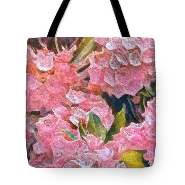 Pink Bougainvillea Tote Bag