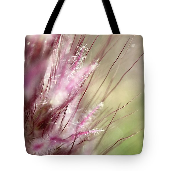 Pink Cotton Candy Tote Bag