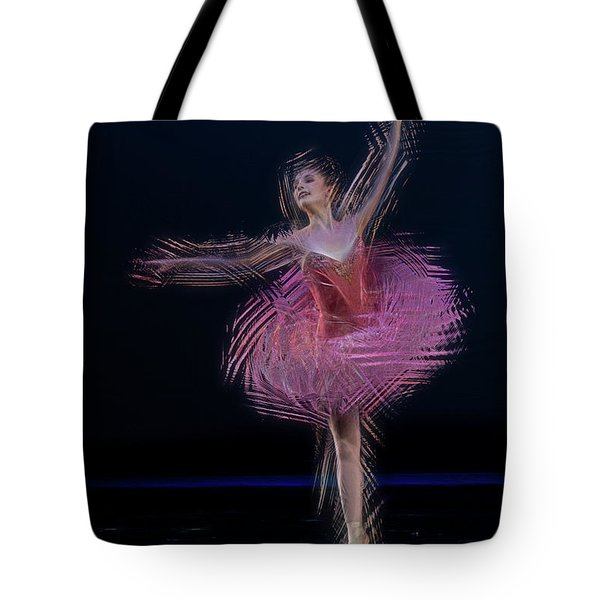 Pink Dancer  - Paintography Tote Bag