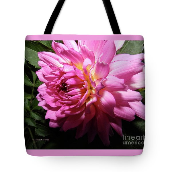 Pink Flower No. 58 Tote Bag