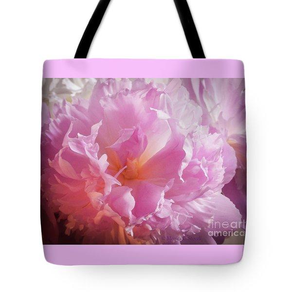 Pink Flowers No. 77 Tote Bag