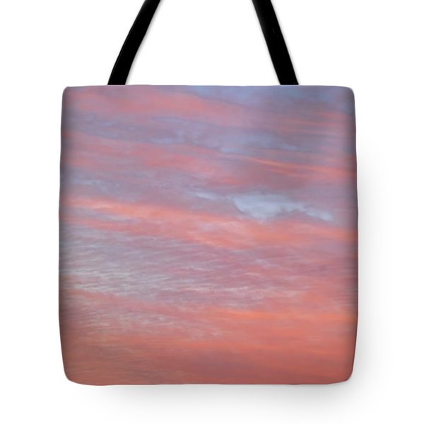 Pink In The Sky Tote Bag