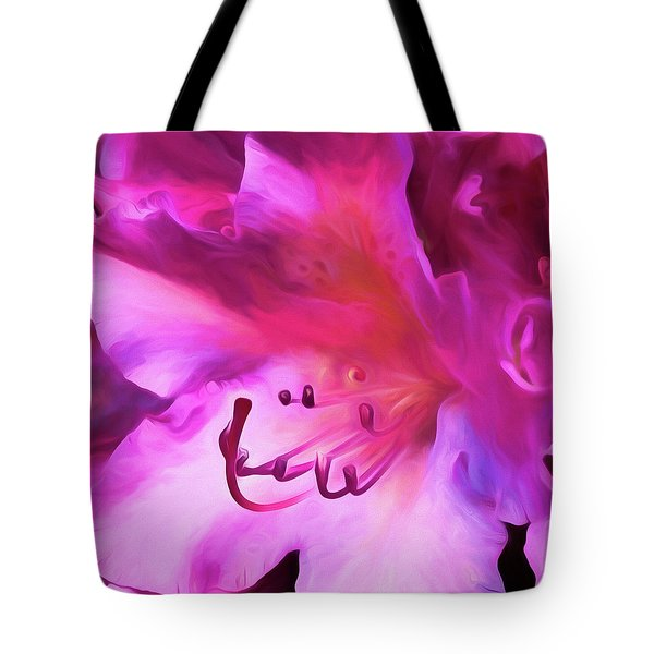 Pink O'keefe Tote Bag