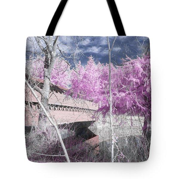 Pink Sachs Tote Bag