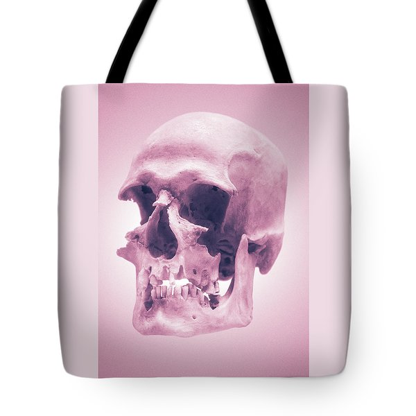 Pink Textures Tote Bag