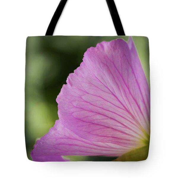 Pink Vains Tote Bag