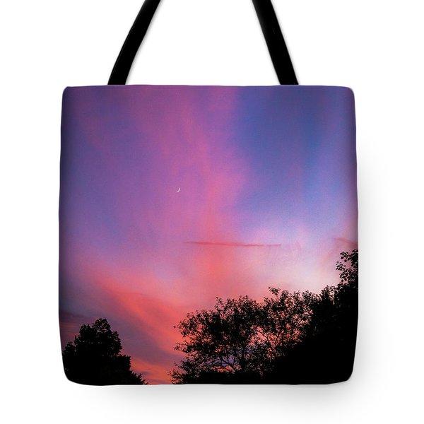 Pink Whisps Tote Bag