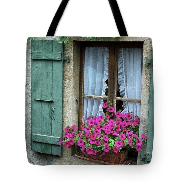 Pink Window Box Tote Bag
