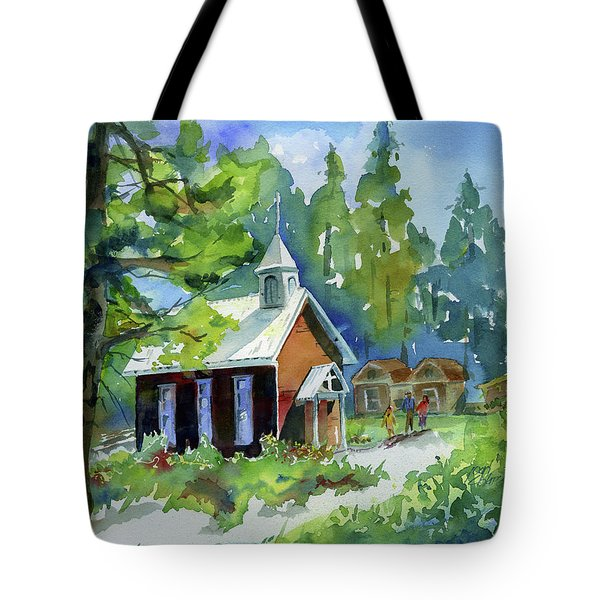 Pioneer Union Church Tote Bag