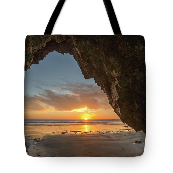 Pismo Caves Sunset Tote Bag