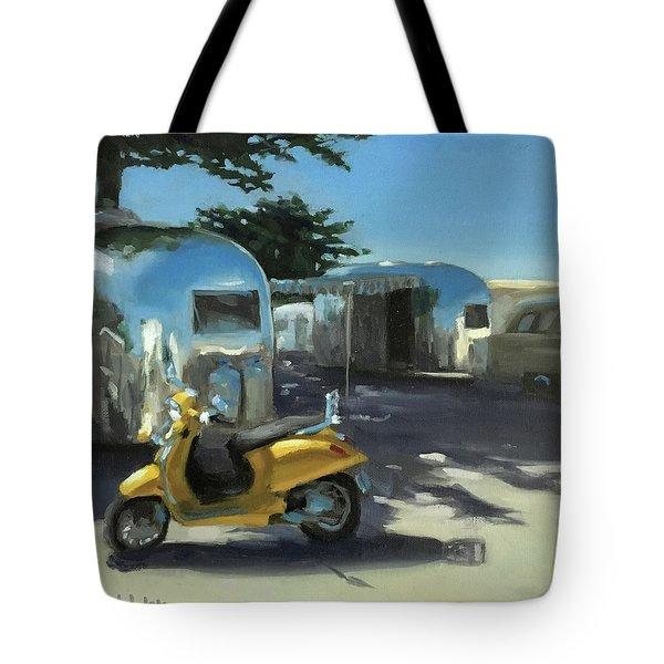 Pismo Vintage Rally Tote Bag