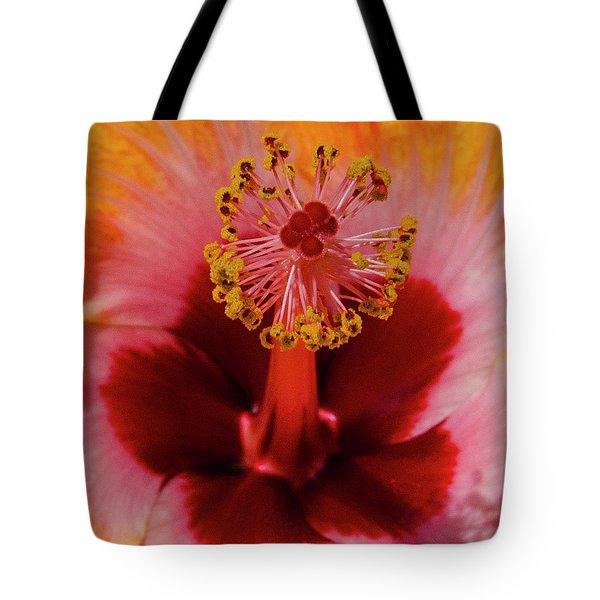 Pistol Packin' Flower Tote Bag