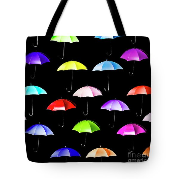 Pitter-pattern Tote Bag