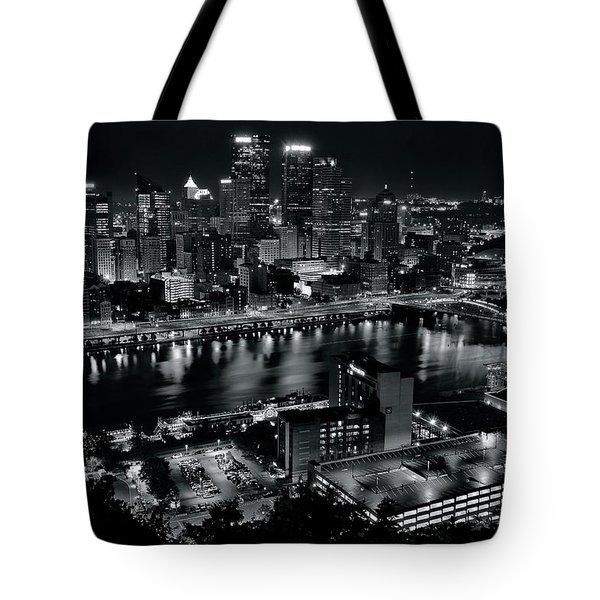 Pittsburgh Full City View Tote Bag